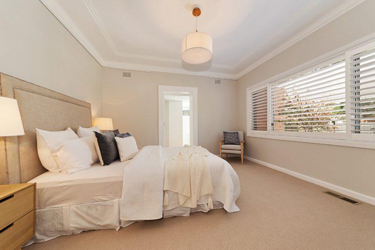 Castlecrag Renovation Main Bedroom